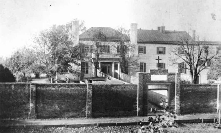 Richard Adams House, Monte Maria Convent, before 1893.